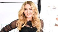 "Madonna attends the promotional event for ""MDNA SKIN"" on February 15, 2016 in Tokyo, Japan."