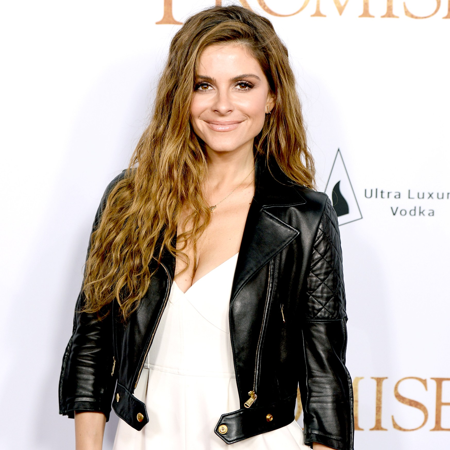 Maria Menounos arrives to the Los Angeles premiere of 'The Promise' at TCL Chinese Theatre on April 12, 2017 in Hollywood, California.