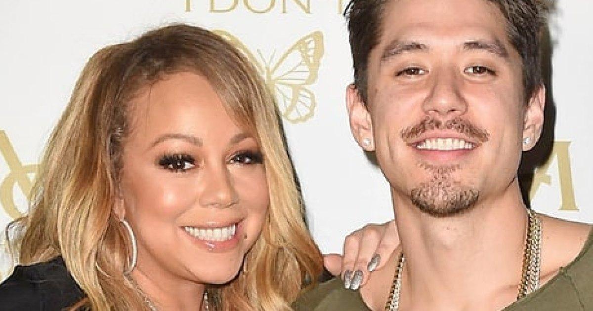 Mariah Carey Celebrates Her Birthday With Boyfriend Bryan