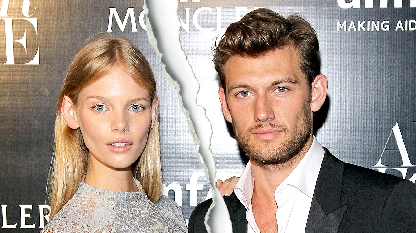 Marloes Horst and Alex Pettyfer attend the Moncler Presentation during Spring 2016 New York Fashion Week.