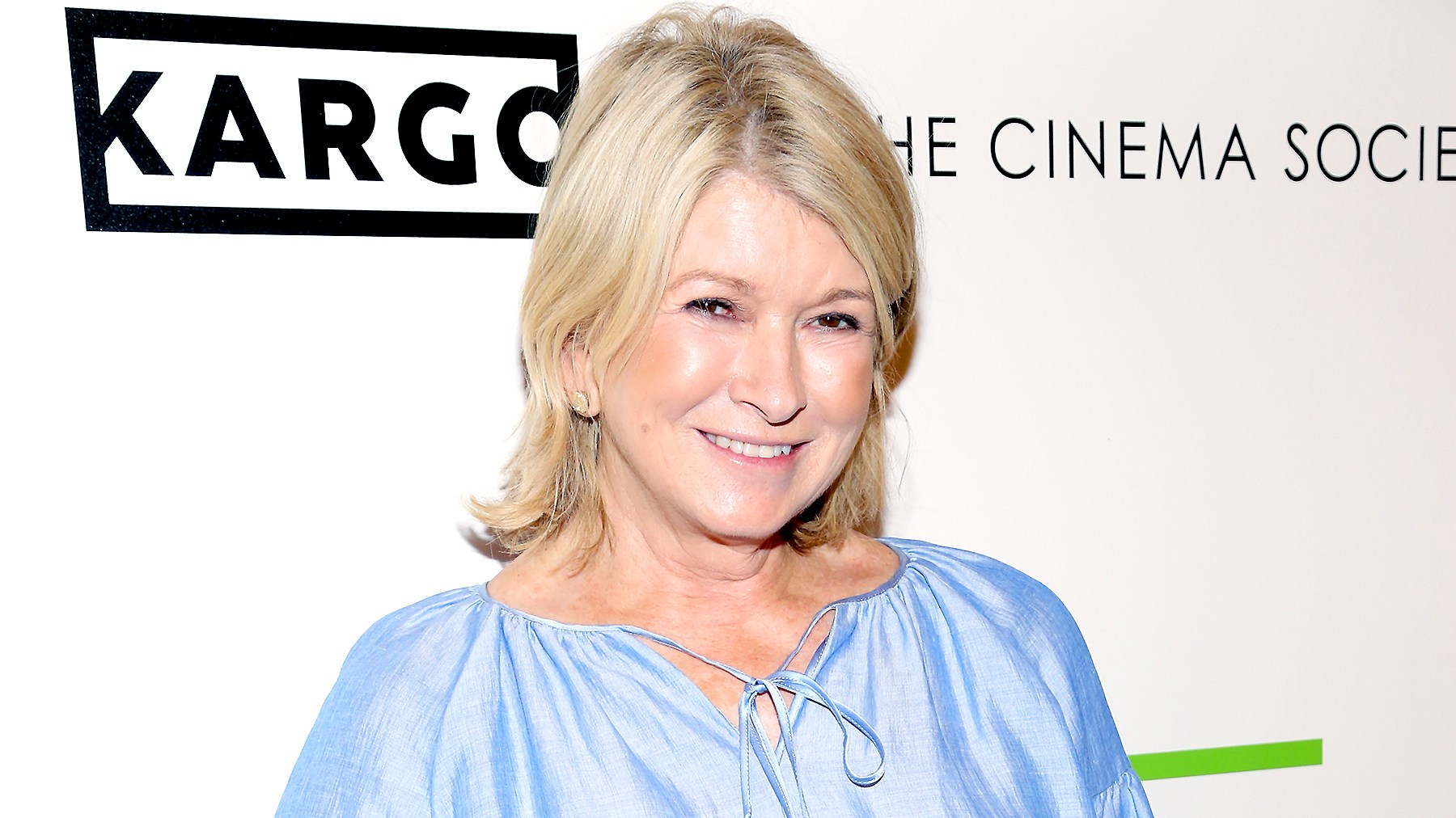 "Martha Stewart attends The Cinema Society & Kargo host the Season 3 Premiere of Bravo's ""Odd Mom Out"" on July 11, 2017 in New York City."