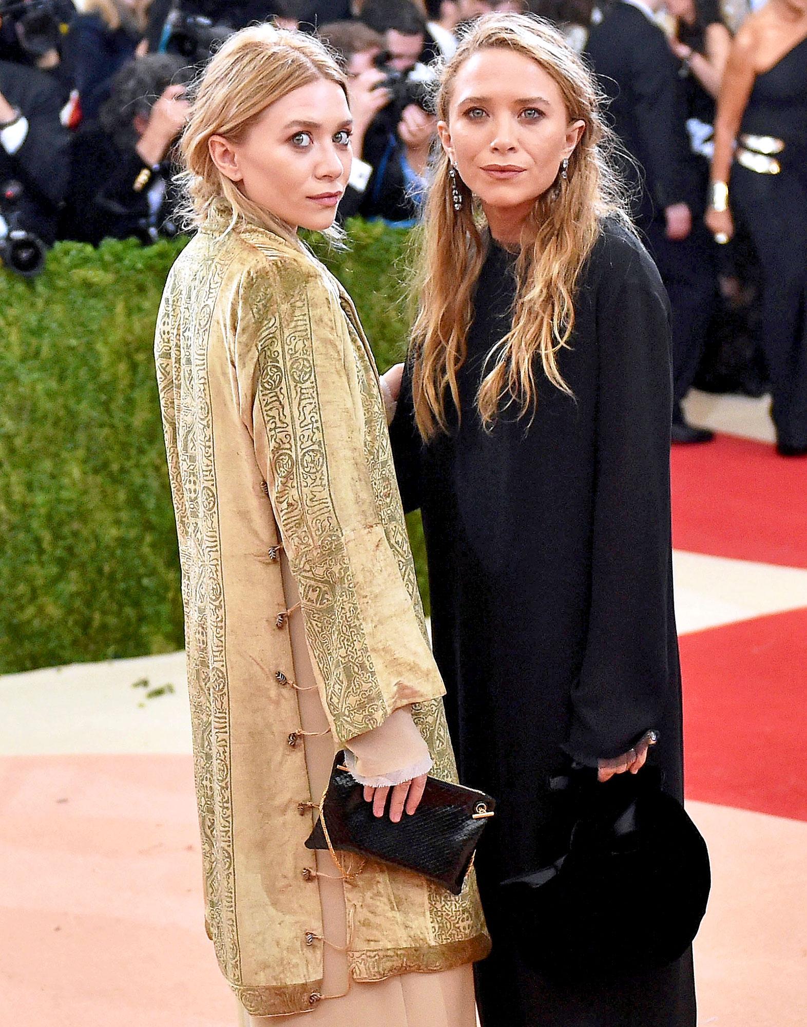 30-year-old Ashley Olsen after her sister chose an elderly boyfriend
