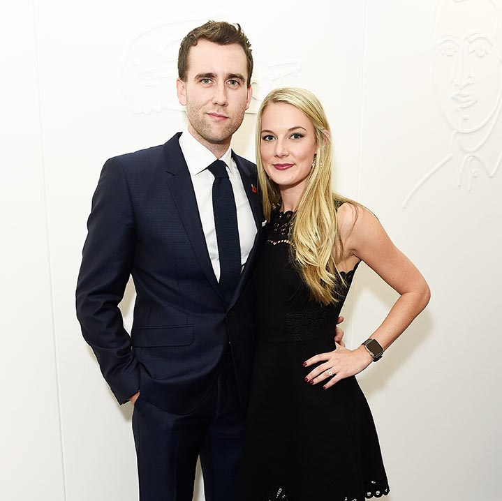 Harry Potter star Matthew Lewis is engaged to Angela Jones
