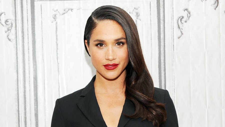 "Meghan Markle discusses her role in ""Suits"" during AOL Build at AOL Studios In New York on March 17, 2016 in New York City."
