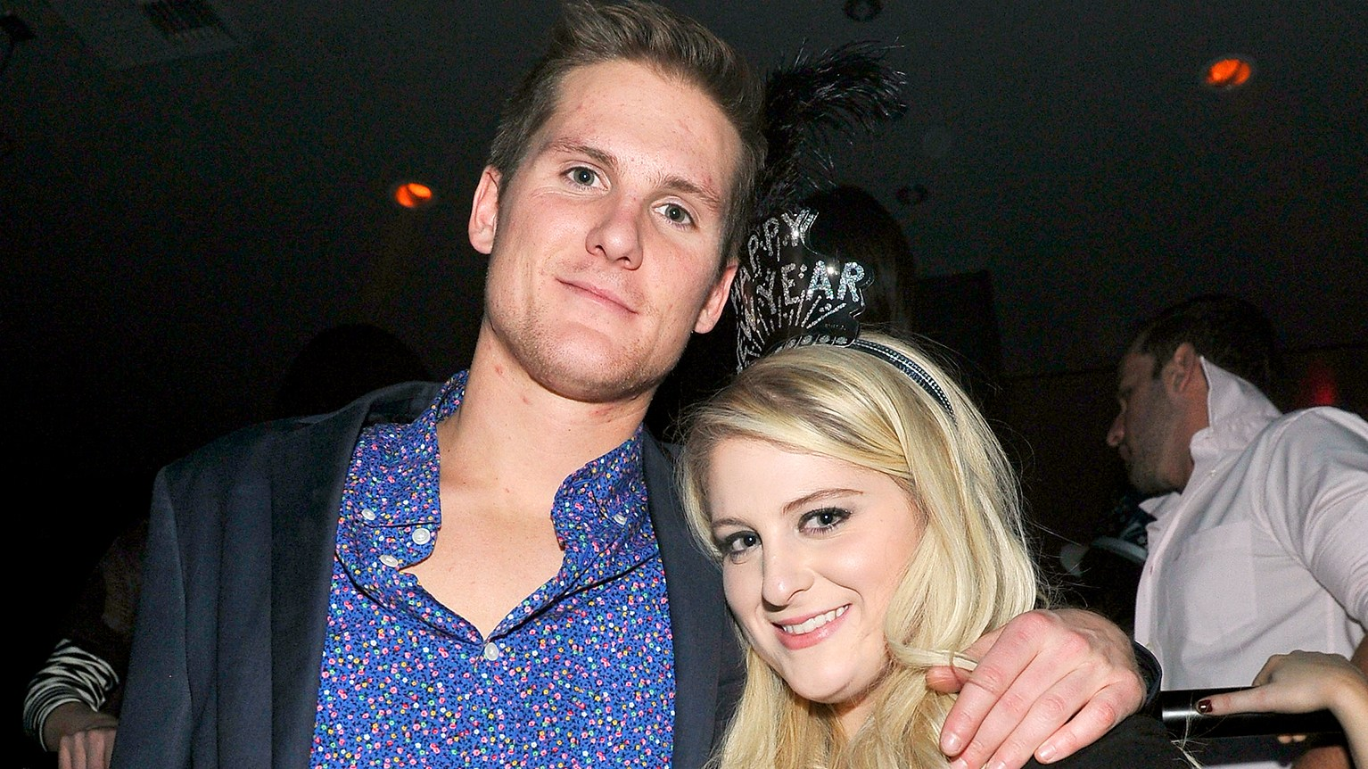 Meghan Trainor and her brother Ryan Trainor