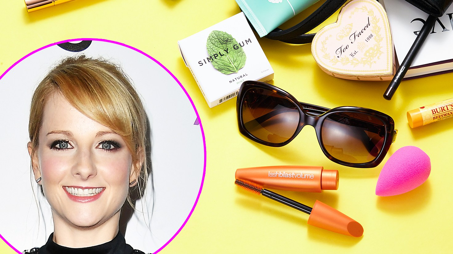 Melissa Rauch What's In My Bag