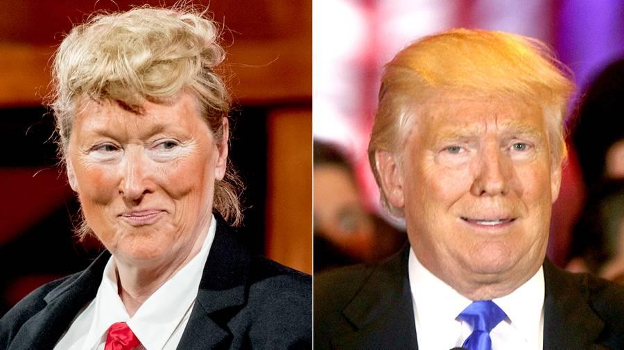 Meryl Streep and Donald Trump
