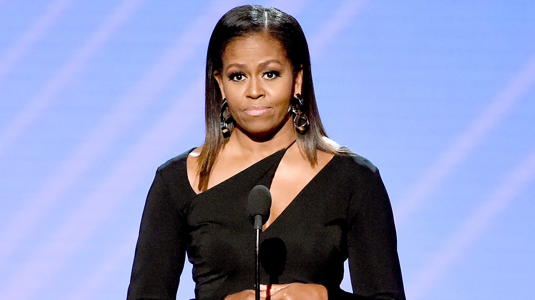 Former First Lady Michelle Obama speaks onstage at The 2017 ESPYS at Microsoft Theater on July 12, 2017 in Los Angeles, California.