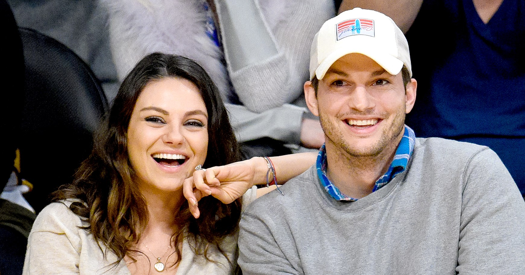 Ashton Kutcher Shares Photo of Son Dimitri Wearing 'That '70s Show' Shirt Featuring Himself and Mila Kunis