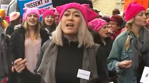 Milck Women's March protest song