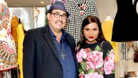 """Costume Designer Sal Perez (L) and Actress Mindy Kaling attend the """"The Mindy Project"""": 6 Seasons Of Style at The Paley Center for Media on August 24, 2017 in Beverly Hills, California."""