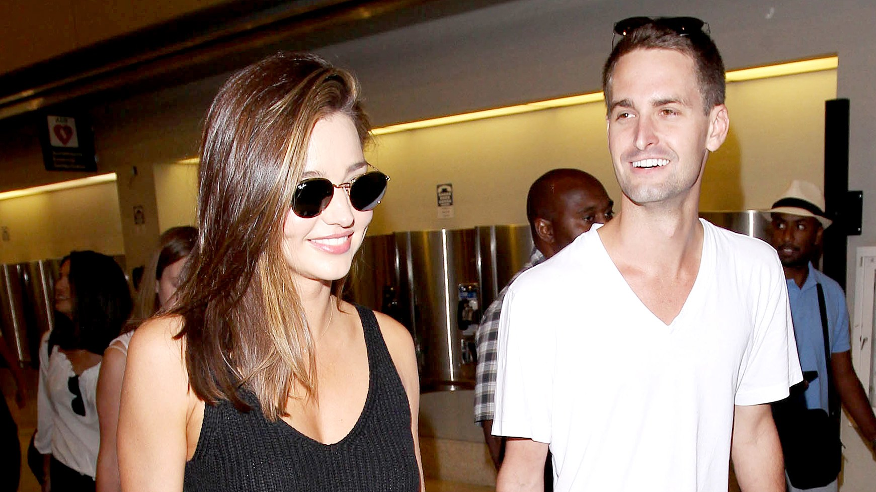 Miranda Kerr and Evan Spiegel