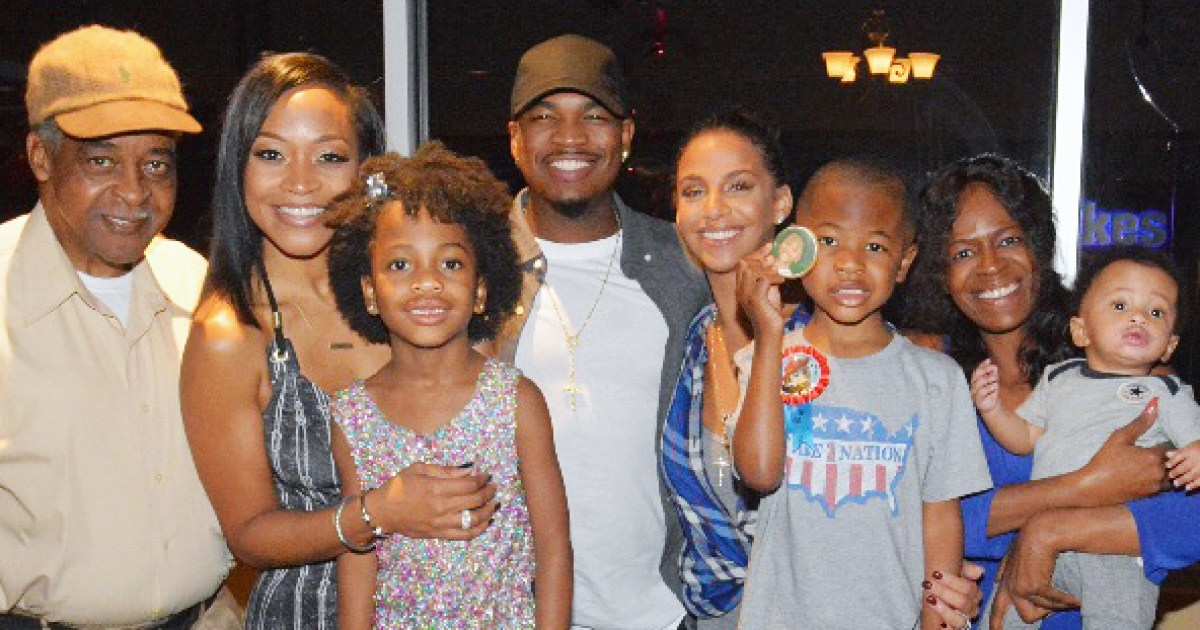 Ne-Yo, Ex Monyetta Shaw Throw Joint Birthday Party for Kids
