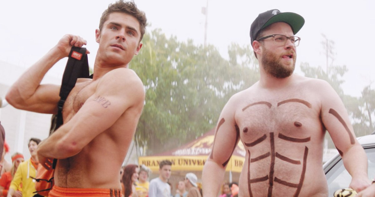 Zac Efron My Mom Wasnt Pleased About Revealing Neighbors 2 Scene