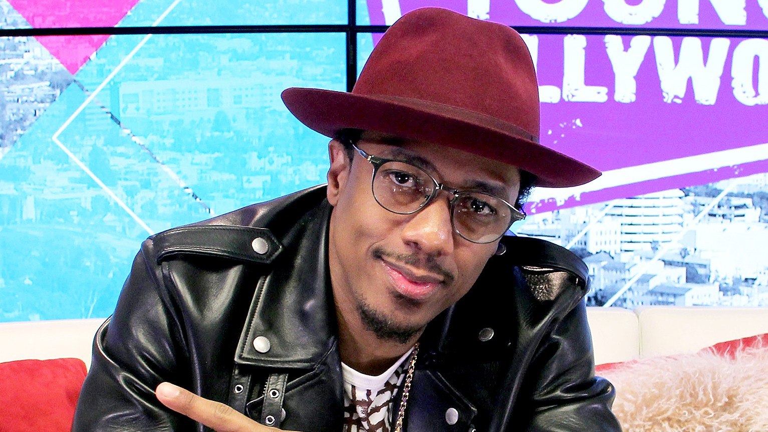 Nick Cannon visits the Young Hollywood Studio on January 15, 2016.
