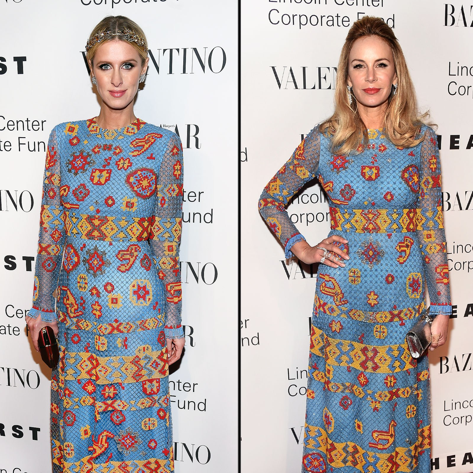 Nicky Hilton and Dee Ocleppo