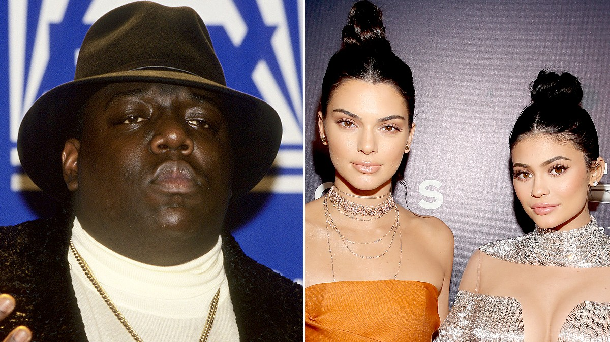 Notorious B.I.G. and Kendall and Kylie Jenner