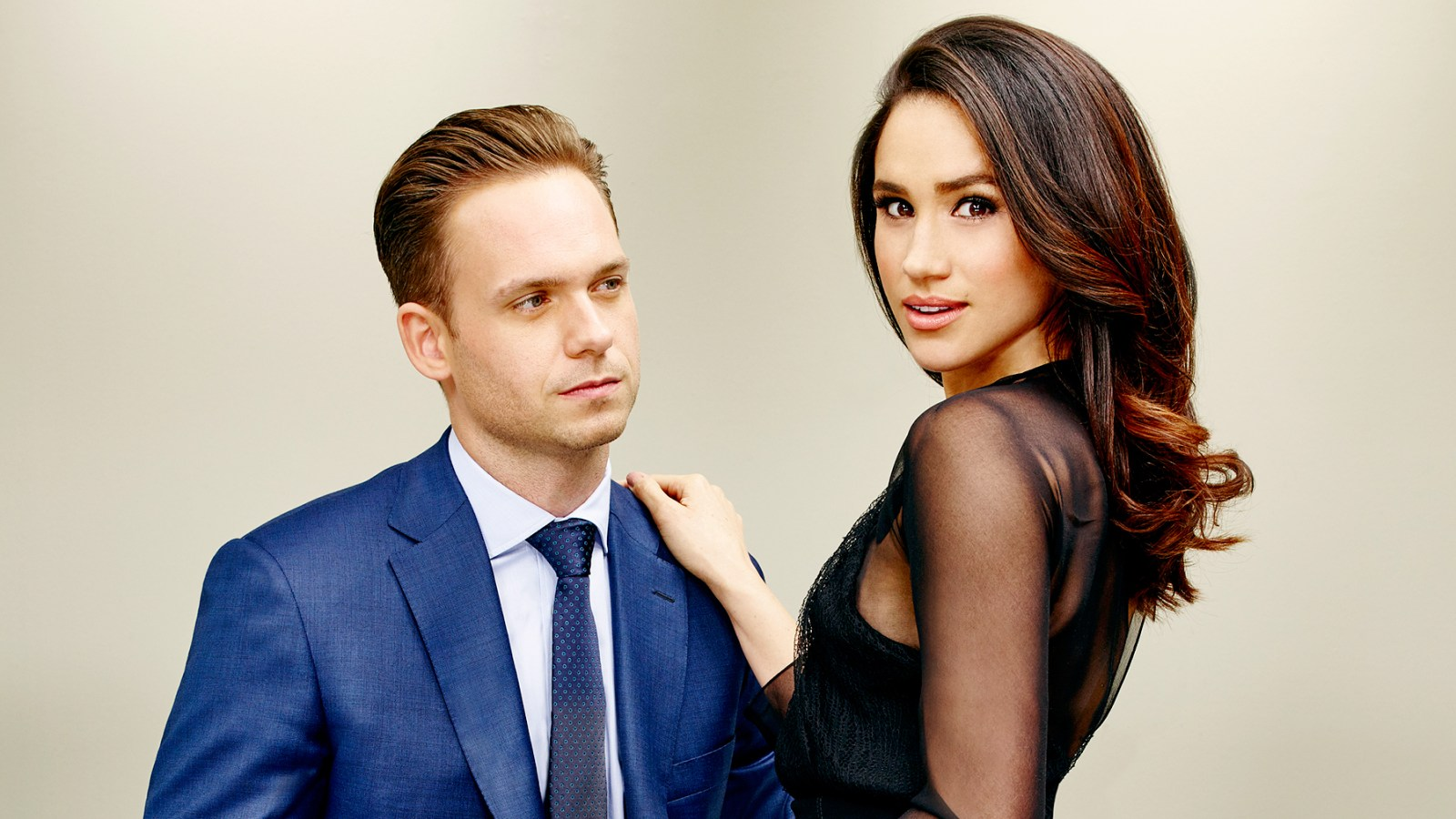 Suits Patrick J Adams I Cant Post Things About Meghan Markle