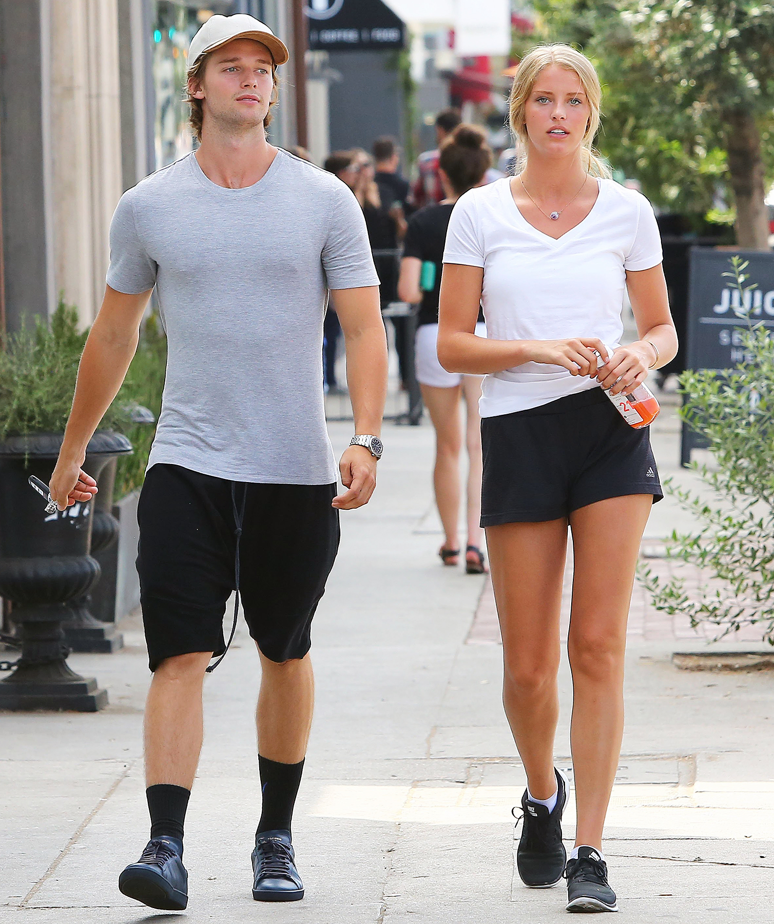 Patrick Schwarzenegger dating Ariana Grande