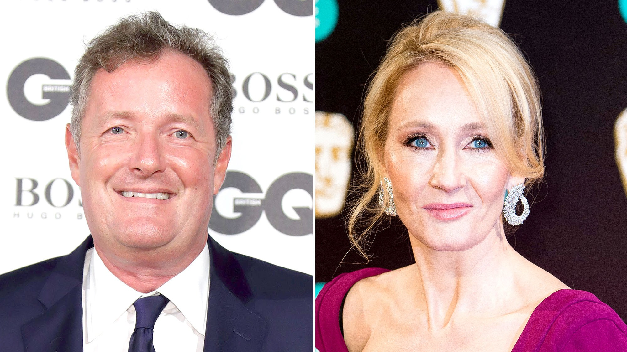 Piers Morgan, J.K. Rowling