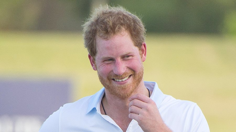 Prince Harry falls off horse