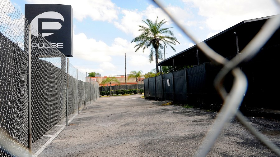 A view of the Pulse nightclub main entrance on June 21, 2016 in Orlando, Florida.