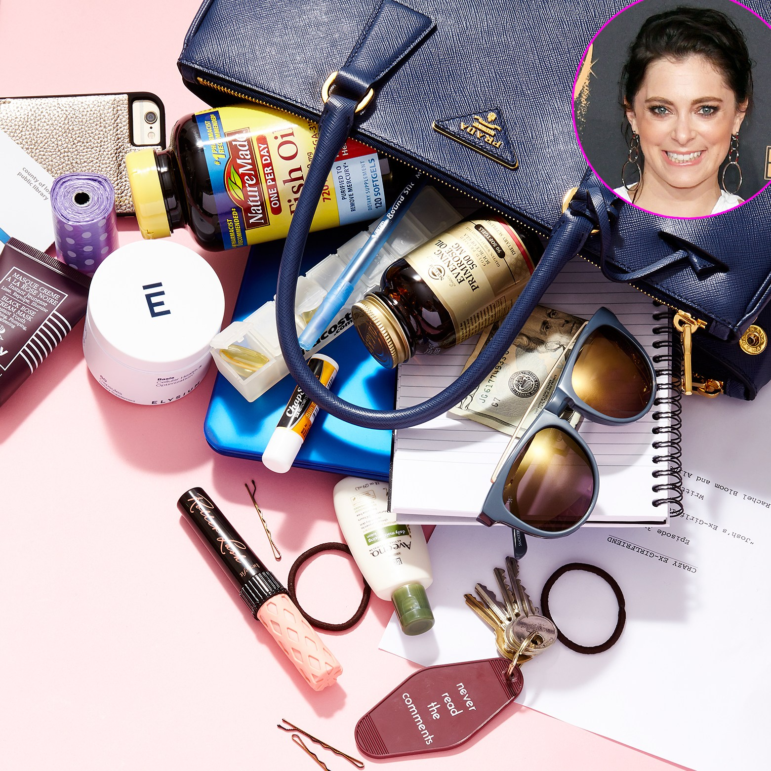 Rachel Bloom What's In My Bag WIMB