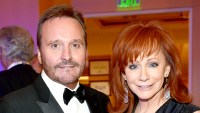 Narvel Blackstock and Reba McEntire attend Muhammad Ali's Celebrity Fight Night XX held at the JW Marriott Desert Ridge Resort & Spa on April 12, 2014.