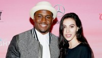 NFL player Reggie Bush (L) and Lilit Avagyan attend ESPN the Party at WestWorld of Scottsdale on January 30, 2015 in Scottsdale, Arizona.