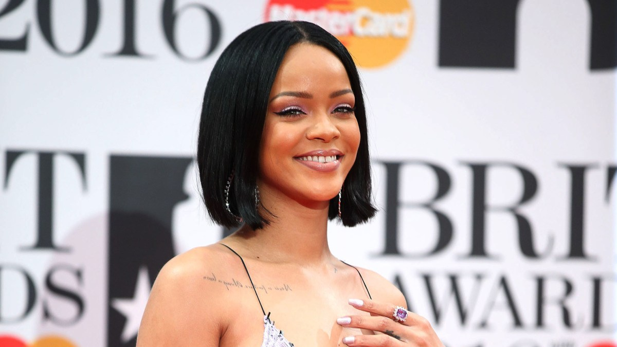 Rihanna Teaches Niece Majesty How to Do a Manicure in Sweet Video