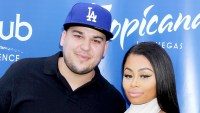 Rob Kardashian and Blac Chyna at Sky Beach Club at The Tropicana Hotel in 2016.