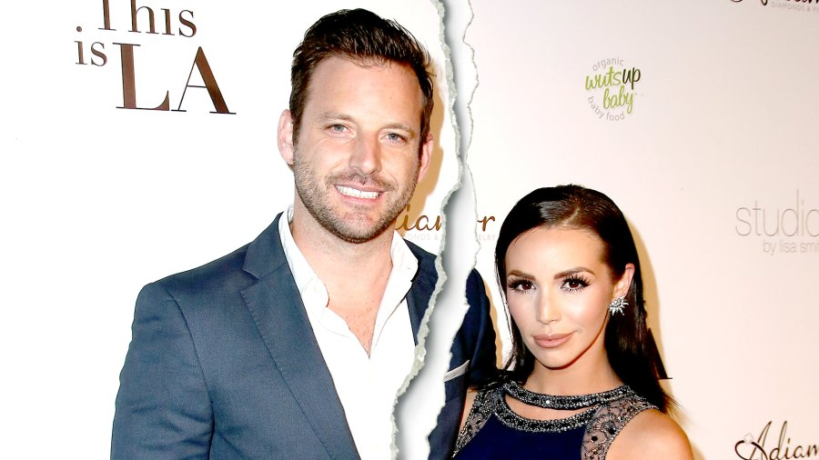 """Robert Parks-Valletta and Scheana Marie attend the premiere party for Circle 8 Production's """"This Is LA"""" at Yamashiro Hollywood on May 3, 2017 in Los Angeles, California."""