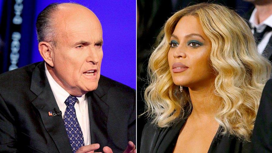 Rudy Giuliani & Beyonce