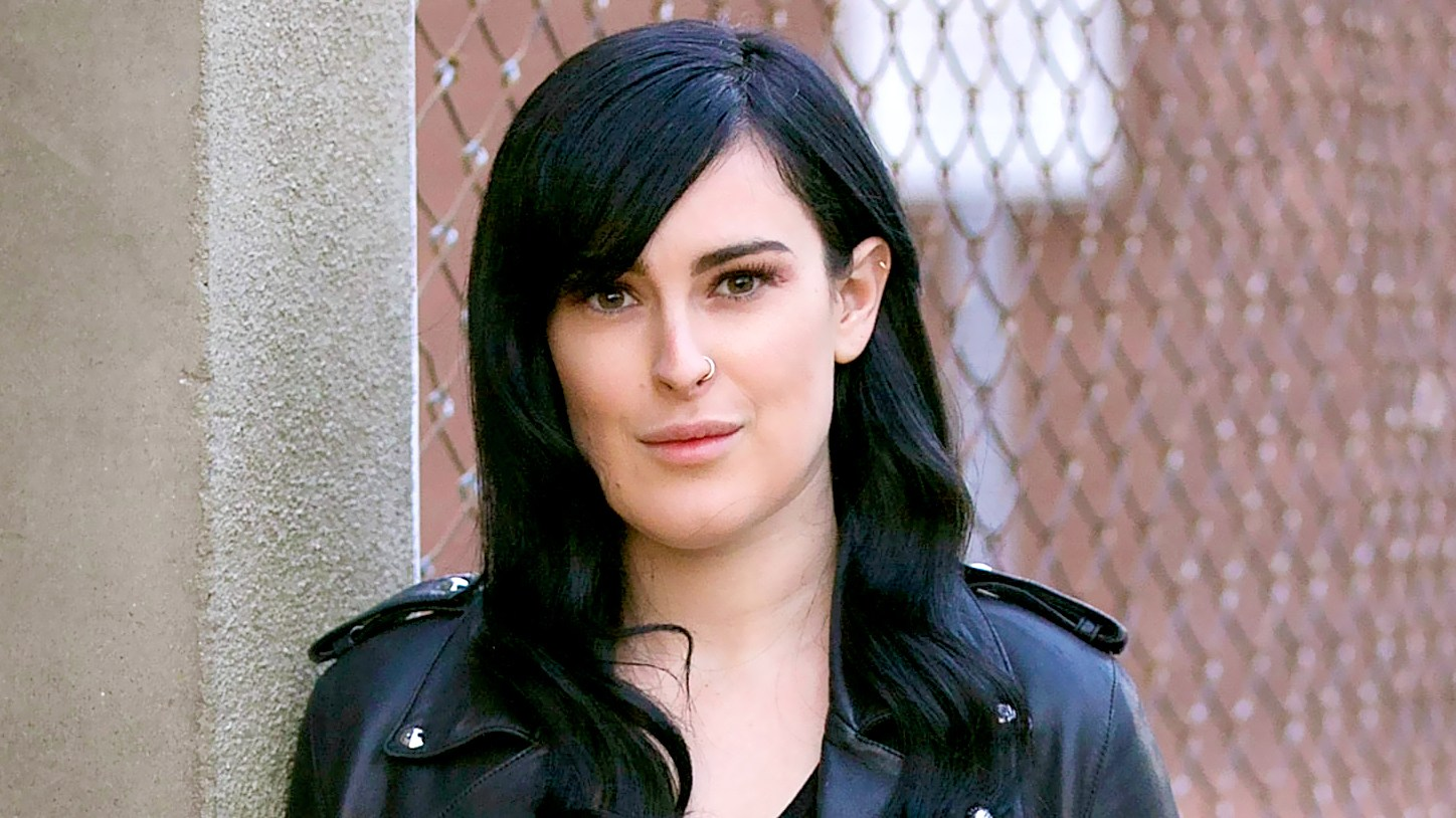 """Rumer Willis poses for a portrait at """"The Unauthorized Musical Parody of The Devil Wears Prada"""" at Rockwell Table & Stage on April 22, 2016 in Los Angeles, California."""