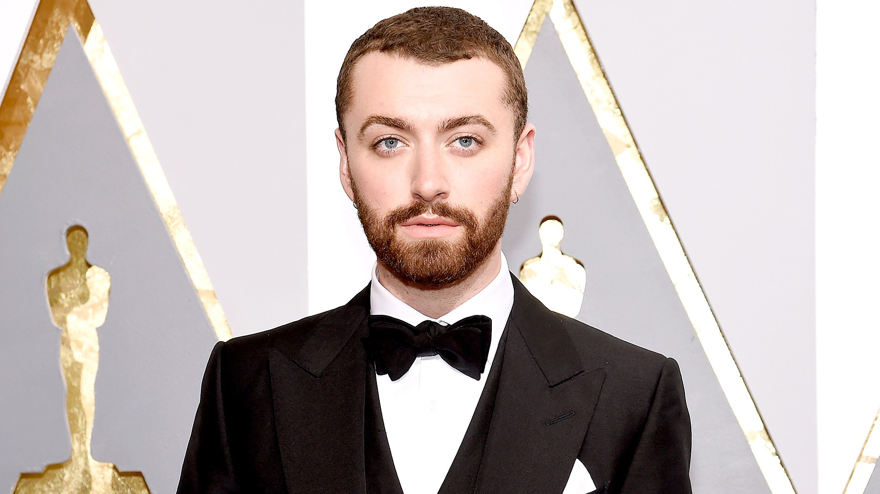 Sam Smith attends the 88th Annual Academy Awards.