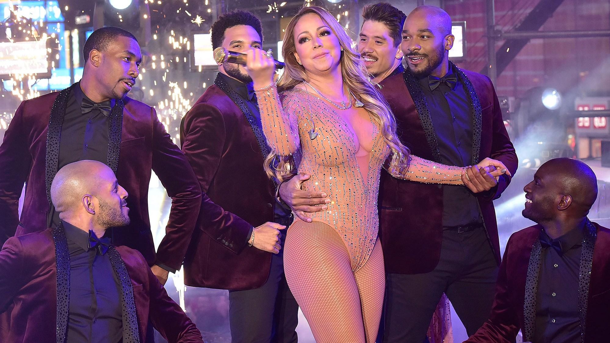 Mariah Carey New Years Eve 2016