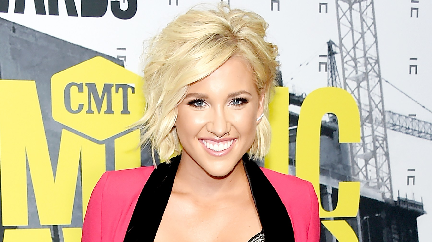 Savannah Chrisley attends the 2017 CMT Music Awards at the Music City Center on June 7, 2017 in Nashville, Tennessee.