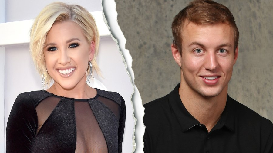 Savannah Chrisley, Luke Kennard, celebrity splits