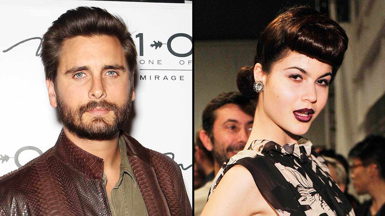 Scott Disick and Lina Sandberg