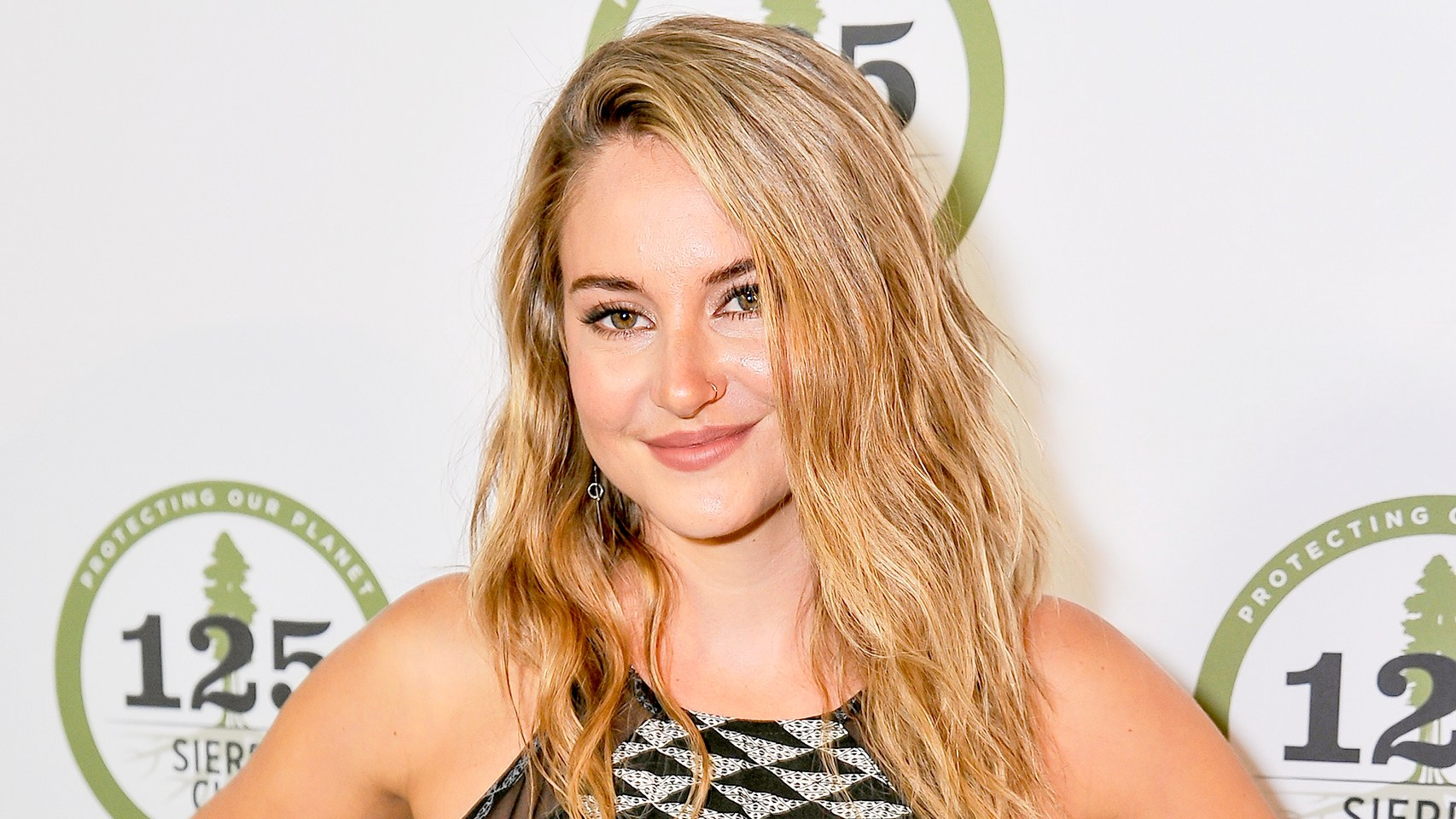 Shailene Woodley attends Sierra Club's 125th Anniversary Trail Blazers Ball at the Palace of Fine Arts on May 18, 2017 in San Francisco, California.