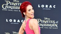 Sharna Burgess arrives at the premiere of Disney's 'Pirates of the Caribbean: Dead Men Tell No Tales' at Dolby Theatre in Hollywood on May 18, 2017.
