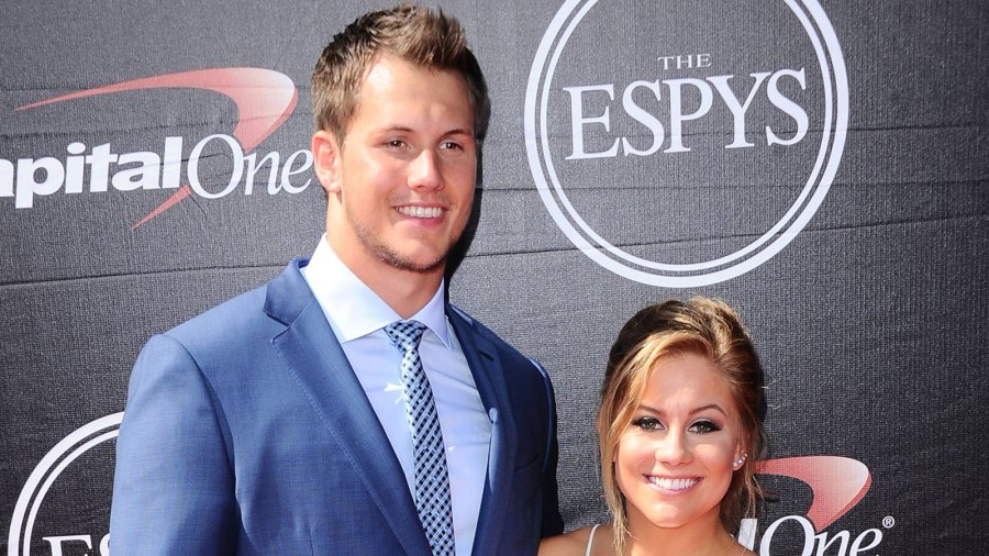 Andrew East and Shawn Johnson
