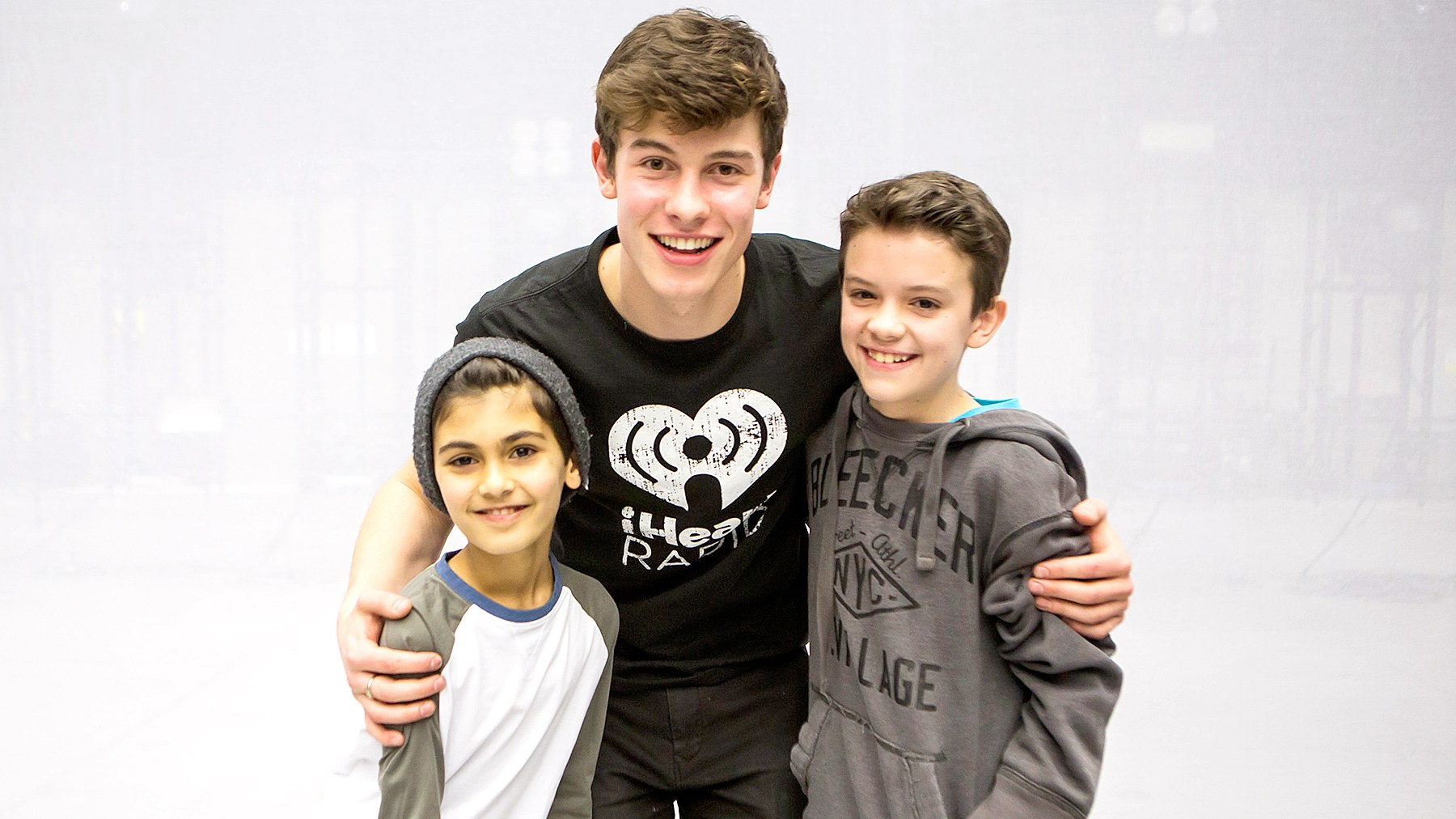 Shawn Mendes rehearsed with James Ciannello and Jordan Matalon ahead of the Garden of Dreams Talent Show.