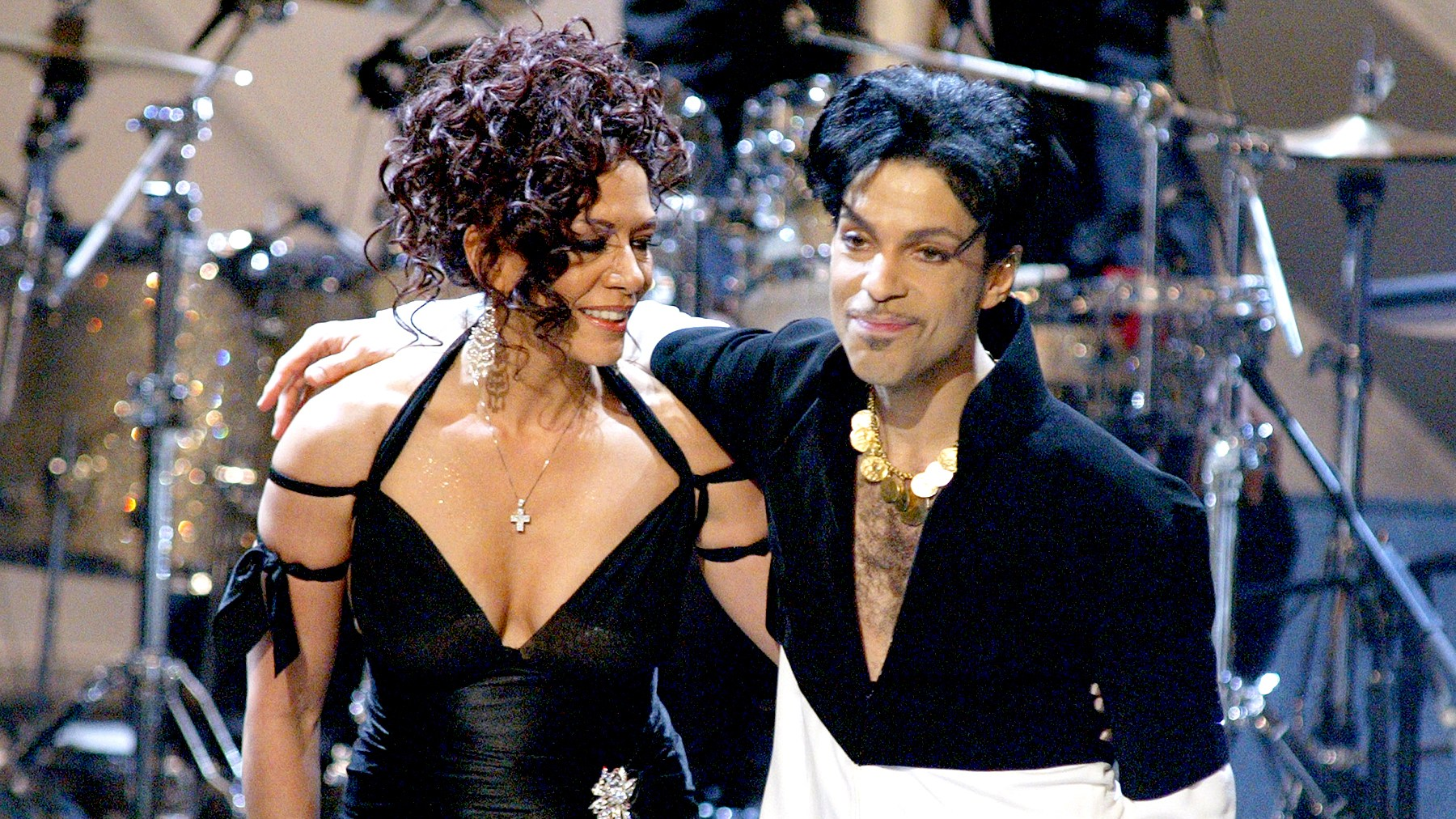 Sheila E. and Prince during The 36th Annual NAACP Image Awards in 2005.