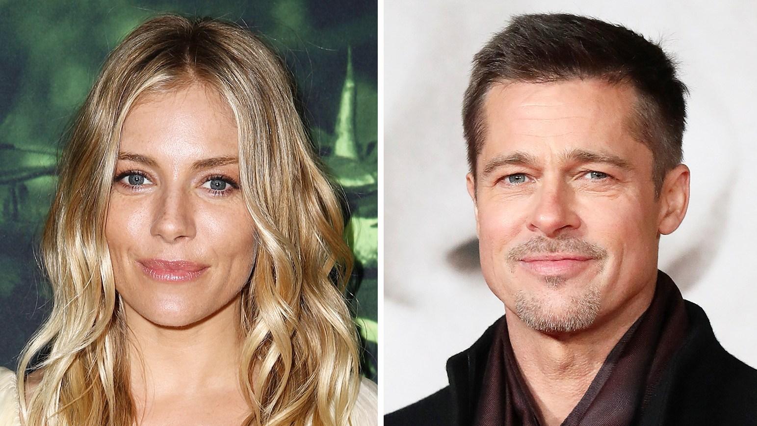 Sienna Miller Brad Pitt