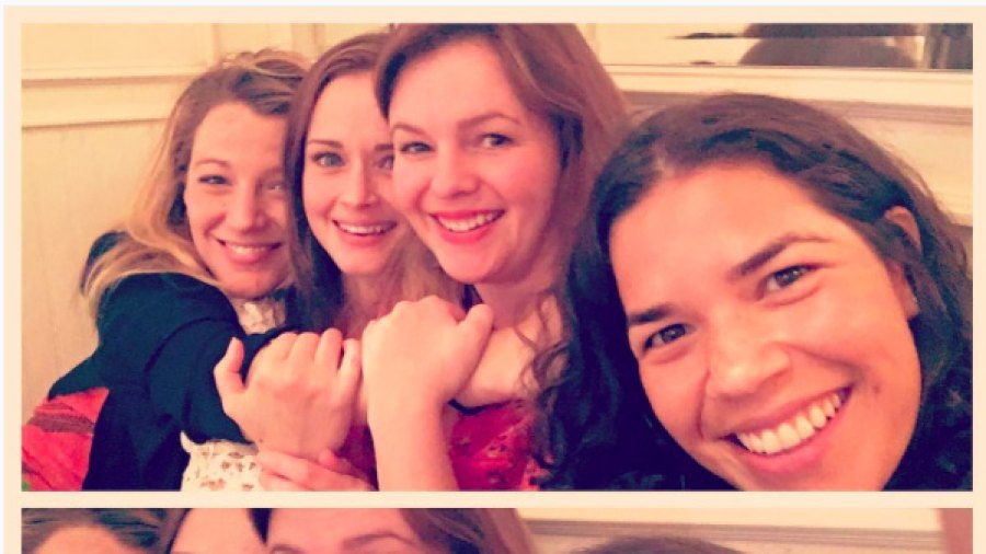 Sisterhood of the Traveling Pants, America Ferrera, Blake Lively, Amber Tamblyn, Alexis Bledel