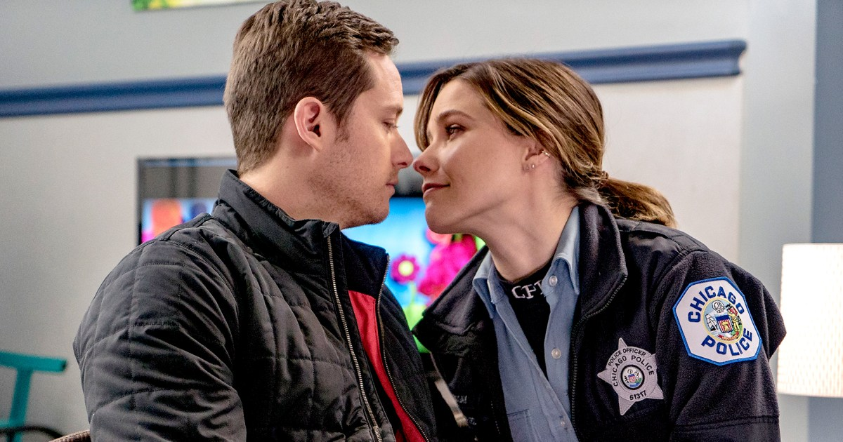 Sophia Bush and boyfriend Jesse Lee Soffer on Chicago PD