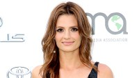 Stana Katic attends the 25th annual EMA Awards presented by Toyota and Lexus and hosted by the Environmental Media Association at Warner Bros. Studios on October 24, 2015 in Burbank, California.