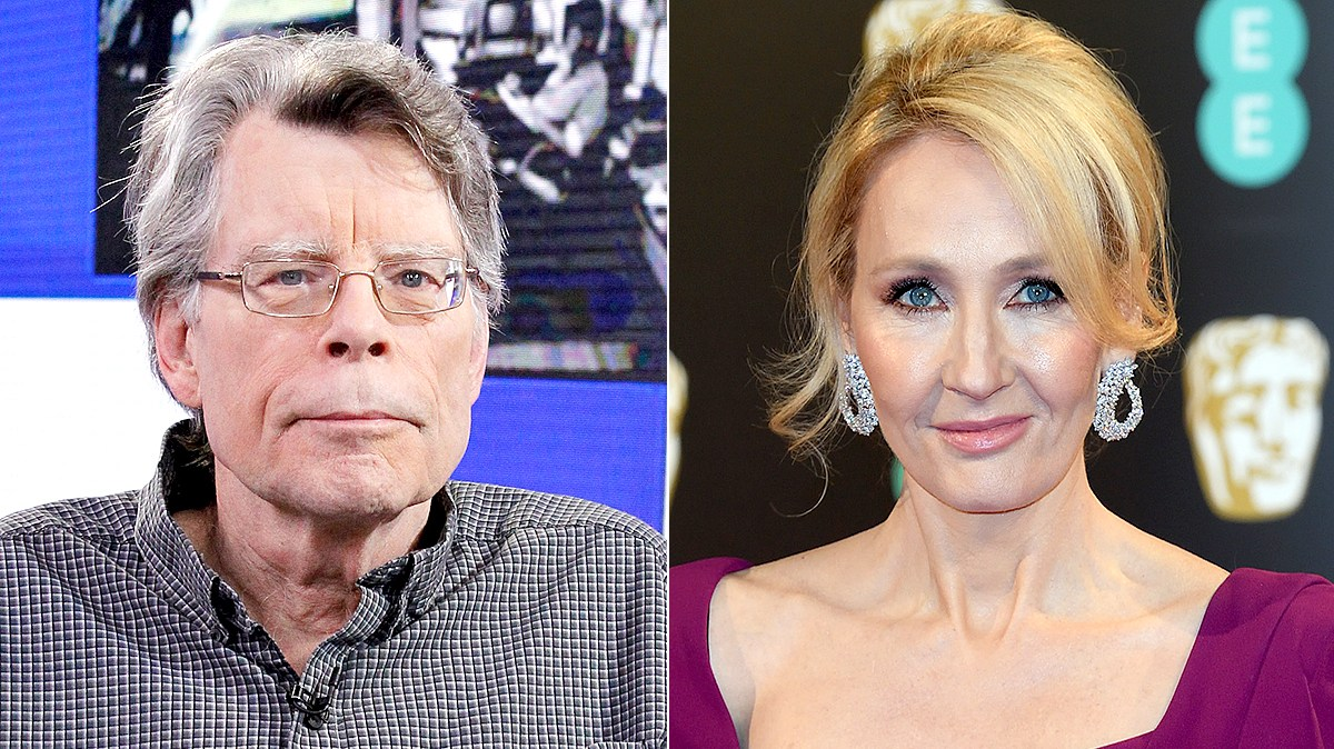 Stephen King and JK Rowling
