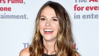 Sutton Foster attends The Actors Fund 2016 Gala at Marriott Marquis Times Square on April 25, 2016.